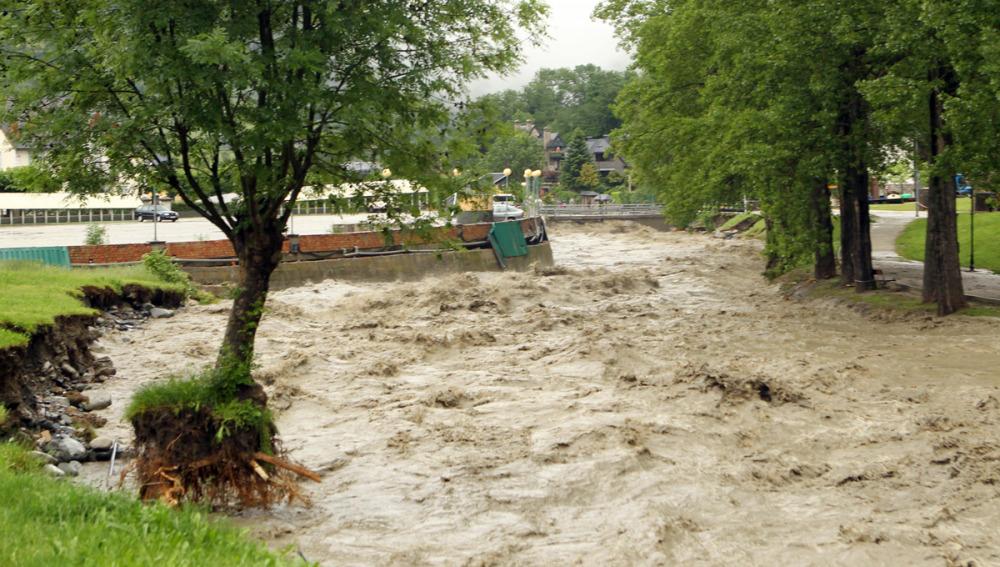 Inundaciones en el Valle de Arán