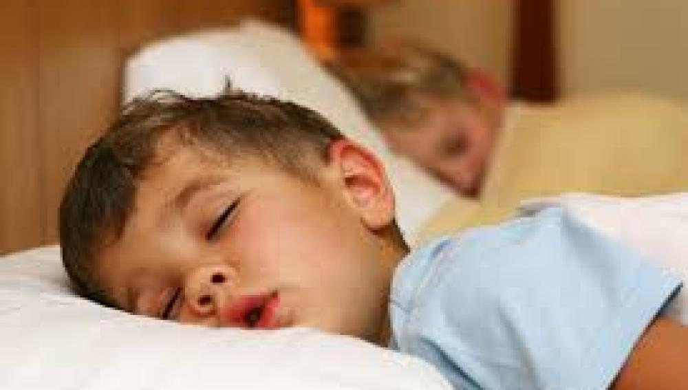 Los pequeños duermen