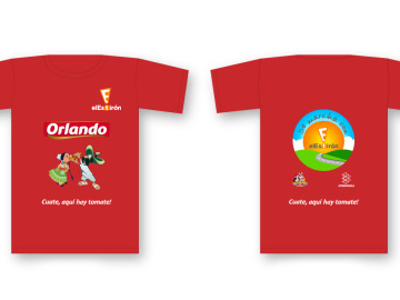 La camiseta de 'De Marcha con El Estirón' 2014