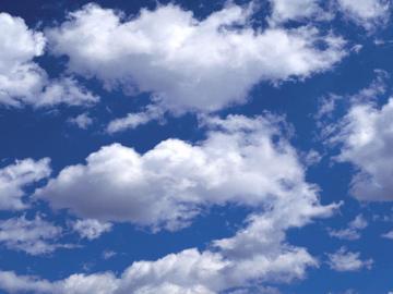 Las nubes producen 'limpiadores' de la atmósfera