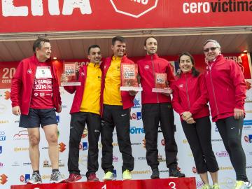 Ganadores de la modalidad de 10 km