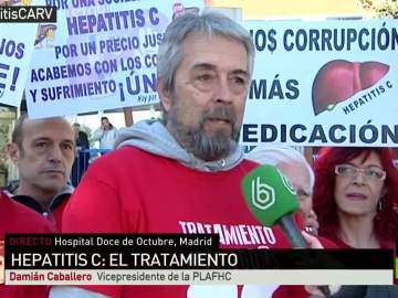 Damián Caballero, vicepresidente de PLAFHC