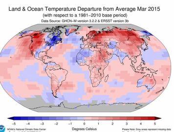 Temperatura marzo 2015