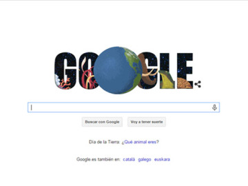 Doodle de Google para celebrar el Día de la Tierra