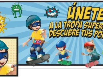 La Asociación Española de Pediatría pone en marcha a la 'Tropa Supersana'