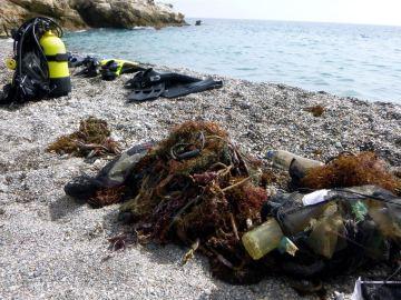 Residuos en las costas españolas