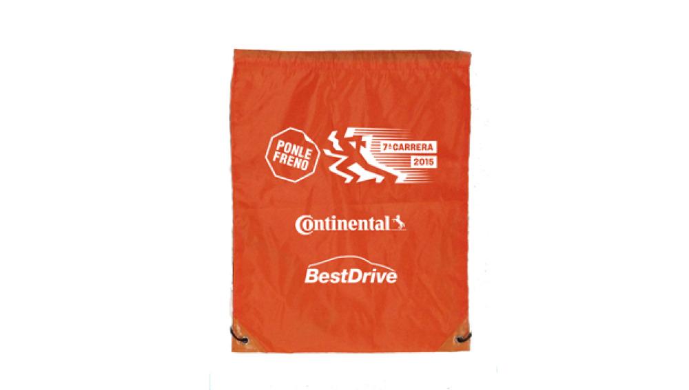 La bolsa del corredor de la 7ª Carrera Ponle Freno