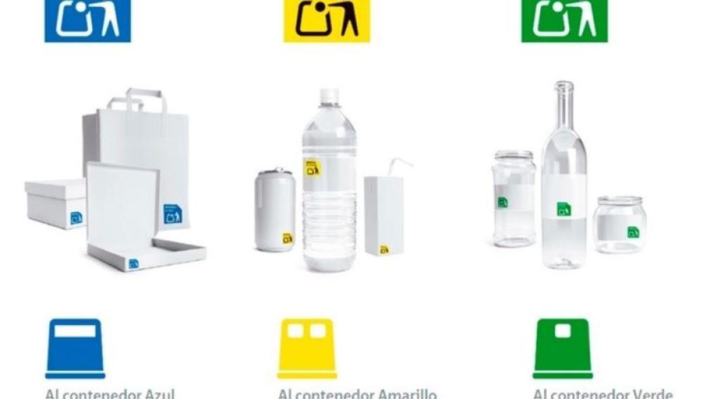 Ecoembes crea nuevos símbolos para facilitar el reciclaje de envases