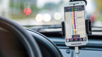 Sistema de navegación en el coche