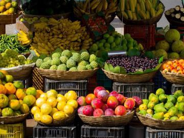 ¿Cuáles son las frutas y verduras propias de la primavera?