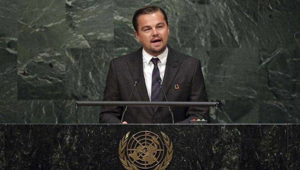 """Leonardo DiCaprio: """"El acuerdo contra el cambio climático es histórico pero no suficiente"""""""
