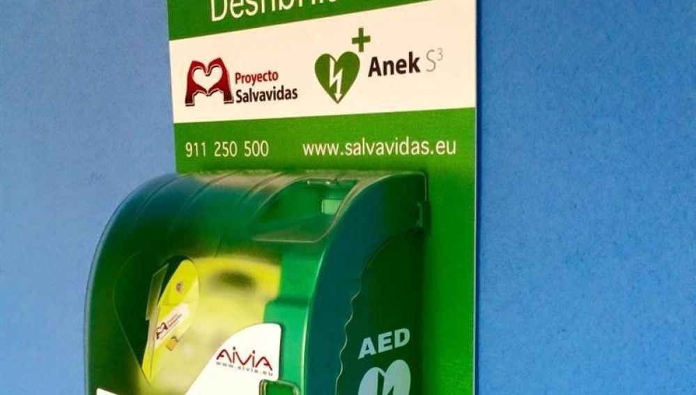 Desfibrilador Proyecto Salvavidas