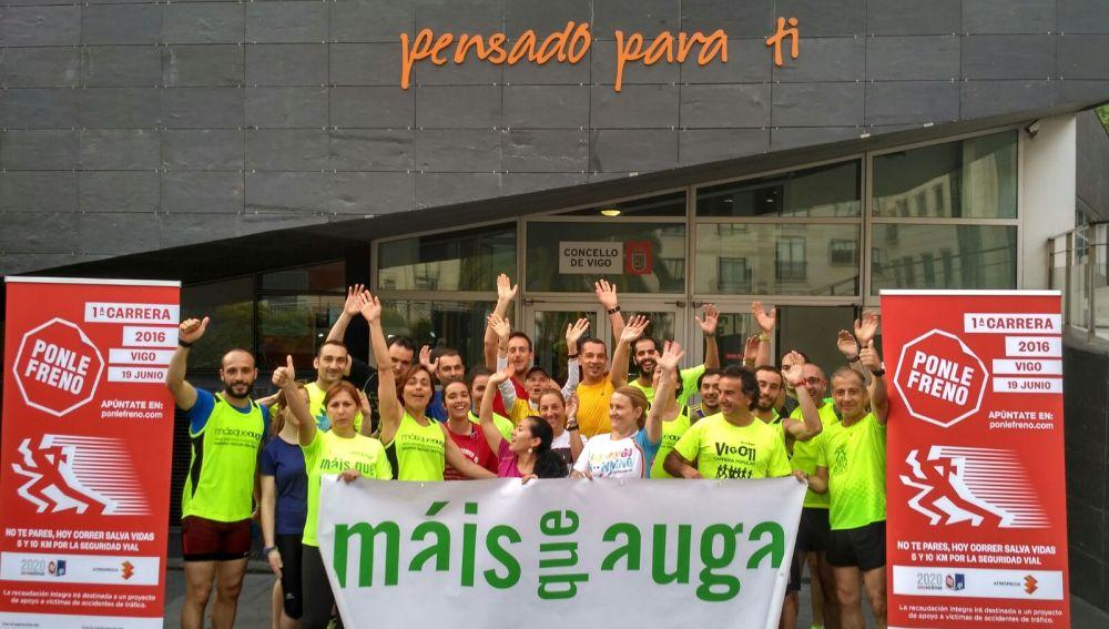 Entrenamientos para la I Carrera Ponle Freno de Vigo