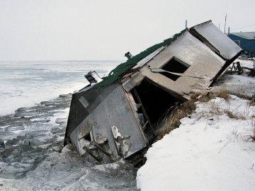 Un pueblo de Alaska se ve obligado a trasladar su ubicación como consecuencia del cambio climático