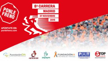 La recaudación de la 8ª Carrera Ponle Freno a apoyo integral de víctimas