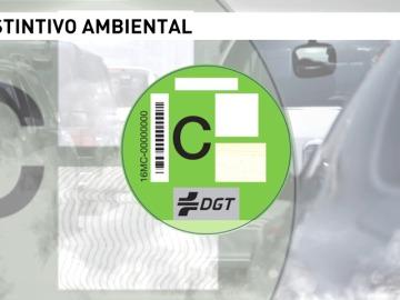 Frame 4.004412 de: Más de cuatro millones de vehículos contarán con una etiqueta medioambiental