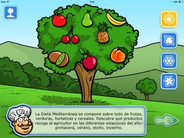 'MedDiet Chef', una aplicación que fomenta los valores de la dieta mediterráena entre los niños