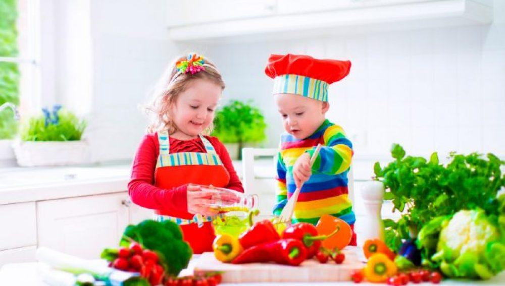Las claves para que los niños coman frutas y verduras