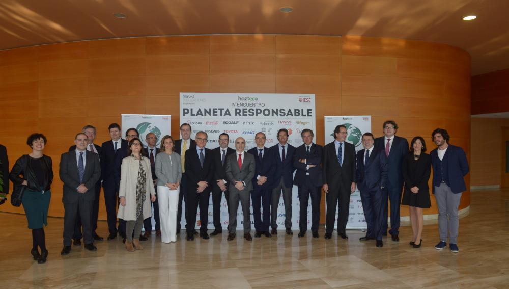 Atresmedia y Grupo Planeta celebran el IV Encuentro Planeta Responsable