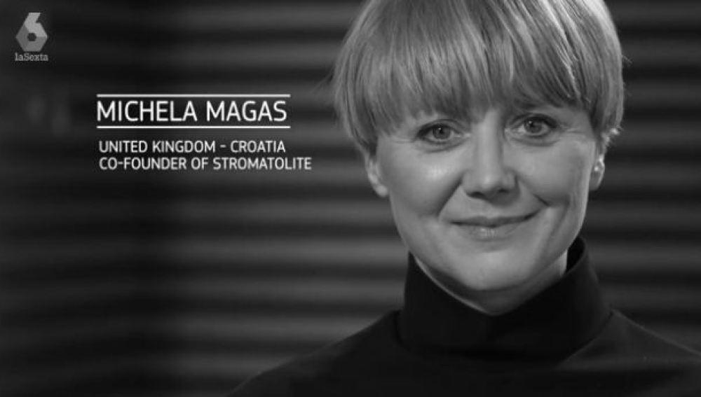 Michela Magas se convierte en la ganadora del Premio a la Mujer Innovadora 2017