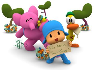 POCOYO celebra la Hora del Planeta y enseña a los niños la aventura de cuidar el medio ambiente