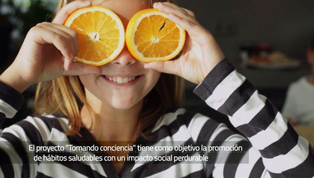 'Tomando conciencia Schools', una iniciativa que promueve los hábitos de vida saludables