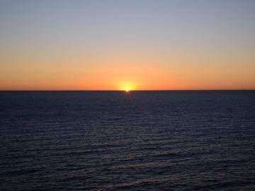Imagen de archivo de un océano