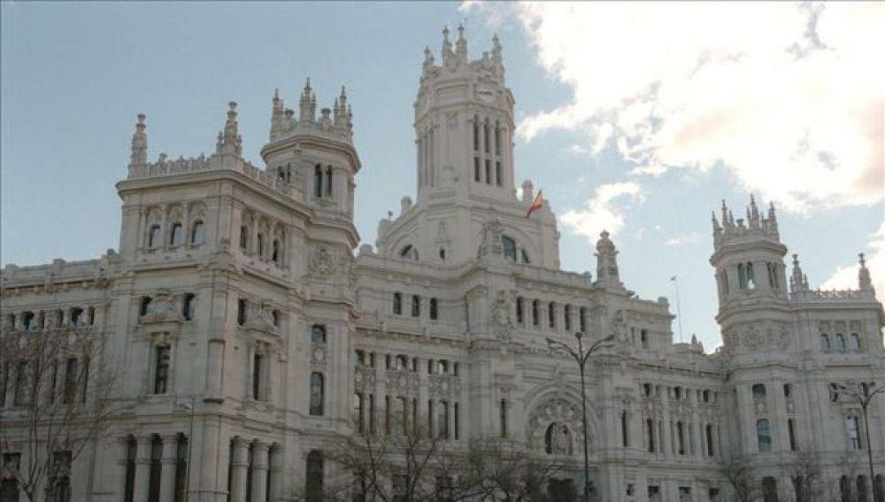 Fachada del Ayuntamiento de Madrid