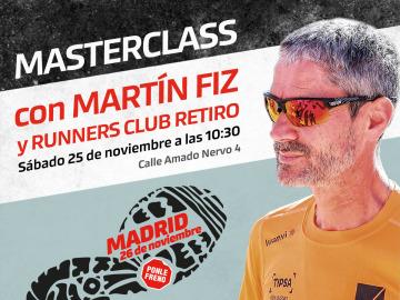 Masterclass con Martín Fiz