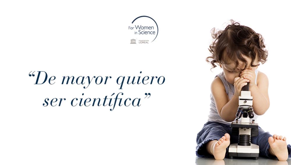 L'Oréal lanza una campaña para impulsar la presencia de las mujeres en las carreras científicas