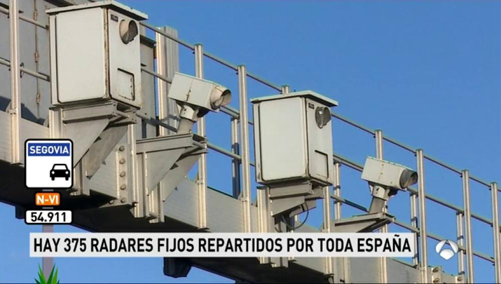 ¿Dónde se encuentran los radares que más multas ponen?