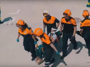 Un español patenta un sistema que reduce el tiempo de rescate en un accidente de autobús