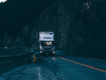 Camión en una carretera