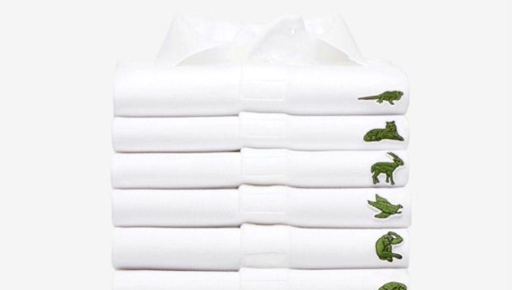 Lacoste lanza una nueva línea de polos y sustituye su popular cocodrilo por otros animales en peligro de extinción