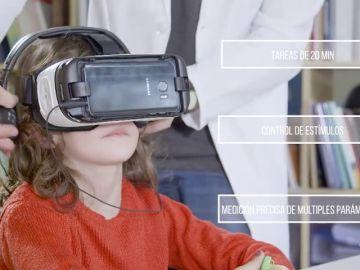 Diagnóstico del TDAH con realidad virtual