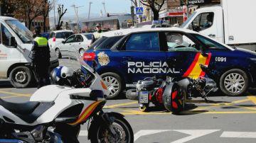 Aparatoso accidente en Granada