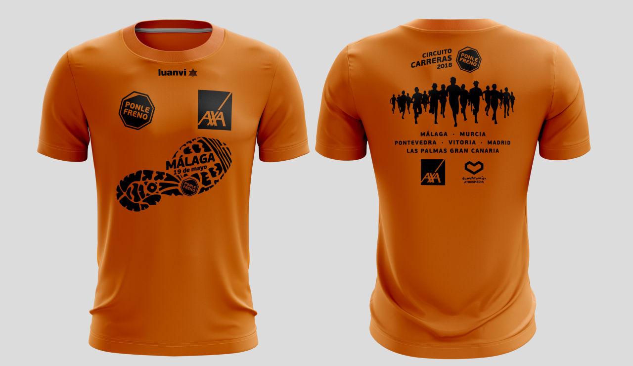 camiseta de las carreras Ponle Freno 2018