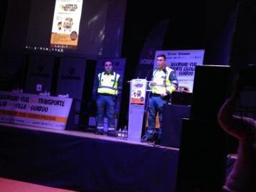Se celebra I Jornada de Seguridad Vial en el Transporte Escolar en Palencia