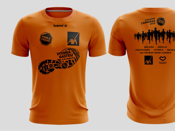 Camiseta carreras Ponle Freno Vitoria 2018