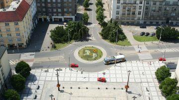 Imagen de un rotonda