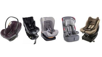 Las cinco sillitas infantiles que no debes comprar porque no han superado el test de seguridad