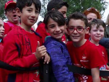 Así nos divertimos en de Marcha con Objetivo Bienestar Junior en el Parque de Atracciones de Madrid